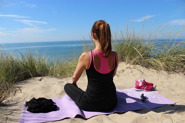 Yoga lässt sich überall praktizieren